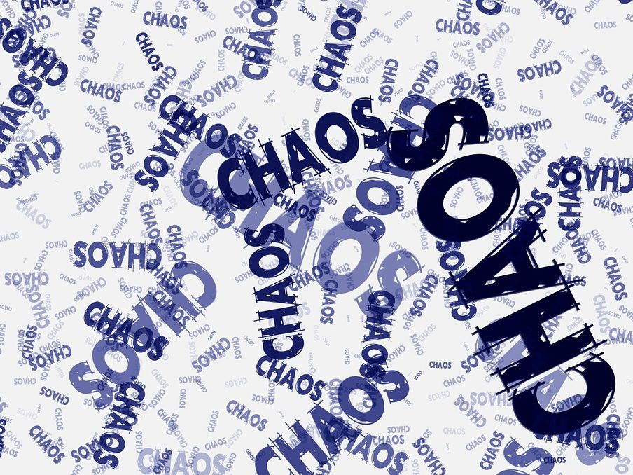 Chaos words in chaos picture_motherhood chaos