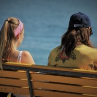Silent Treatment_cold shoulder_mom daughter_bench