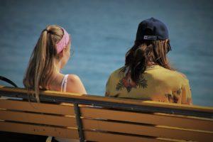 Silent Treatment_cold shoulder_mom daughter_bench