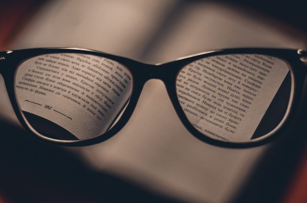 vision glasses book